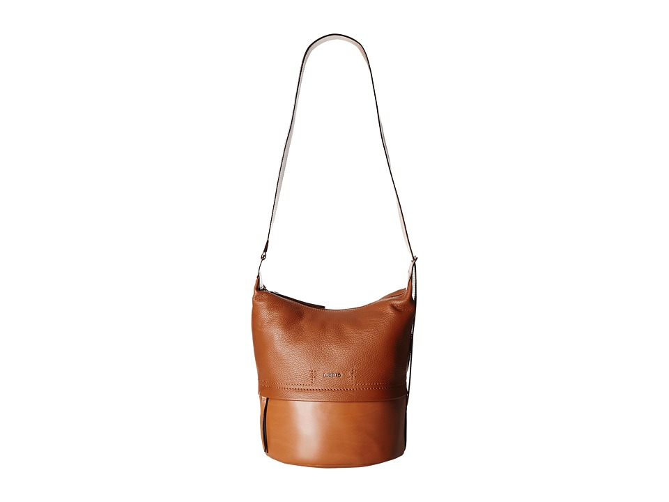 Lodis Accessories - Kate Toby Convertible Bucket (Toffee) Convertible Handbags