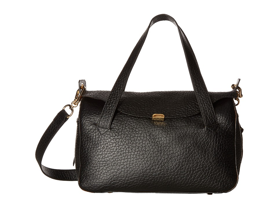 Lodis Accessories - Borrego Oprah Convertible Satchel (Black) Satchel Handbags