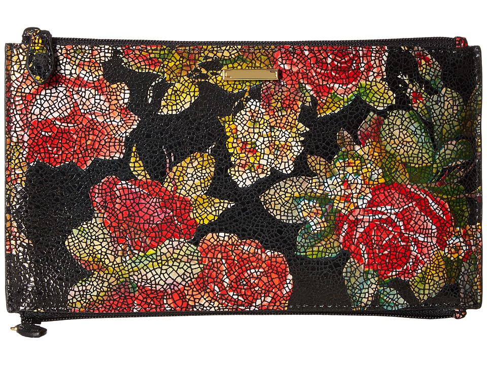 Lodis Accessories - Rosalia Lani Double Zip Pouch (Multi) Travel Pouch