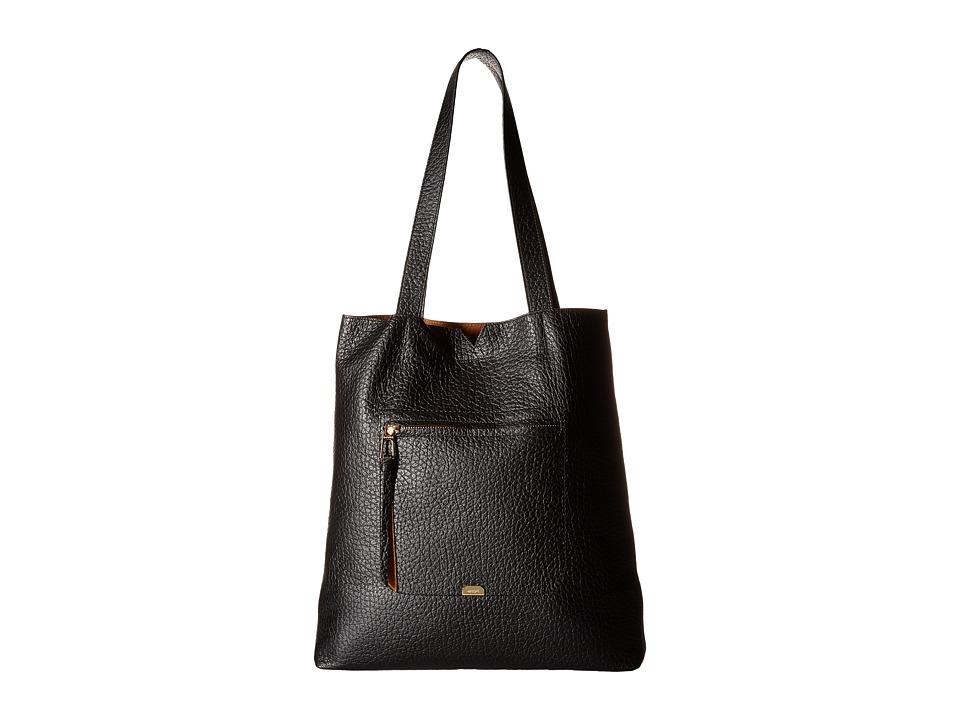 Lodis Accessories - Borrego Madia Large Tote (Black) Tote Handbags