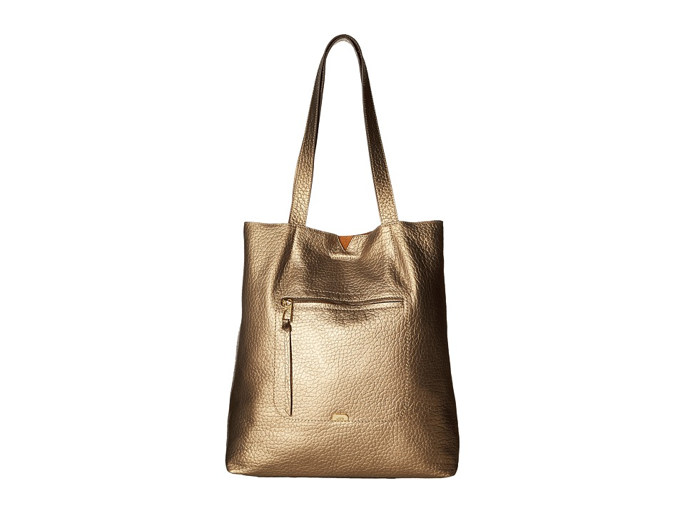 Lodis Accessories - Borrego Madia Large Tote (Bronze) Tote Handbags