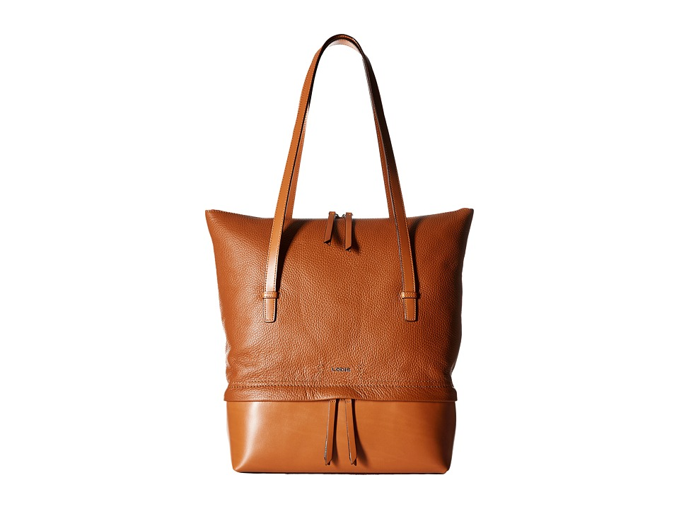 Lodis Accessories - Kate Barbara Commuter Tote (Toffee) Tote Handbags