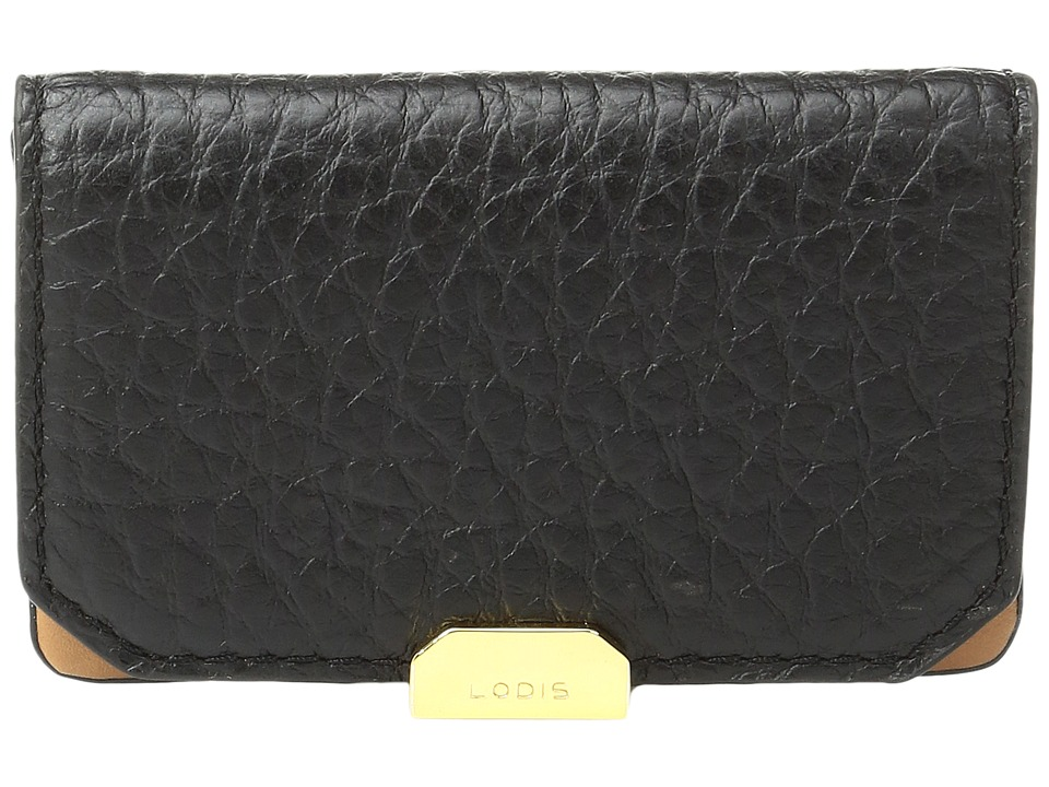Lodis Accessories - Borrego Mini Card Case (Black) Credit card Wallet