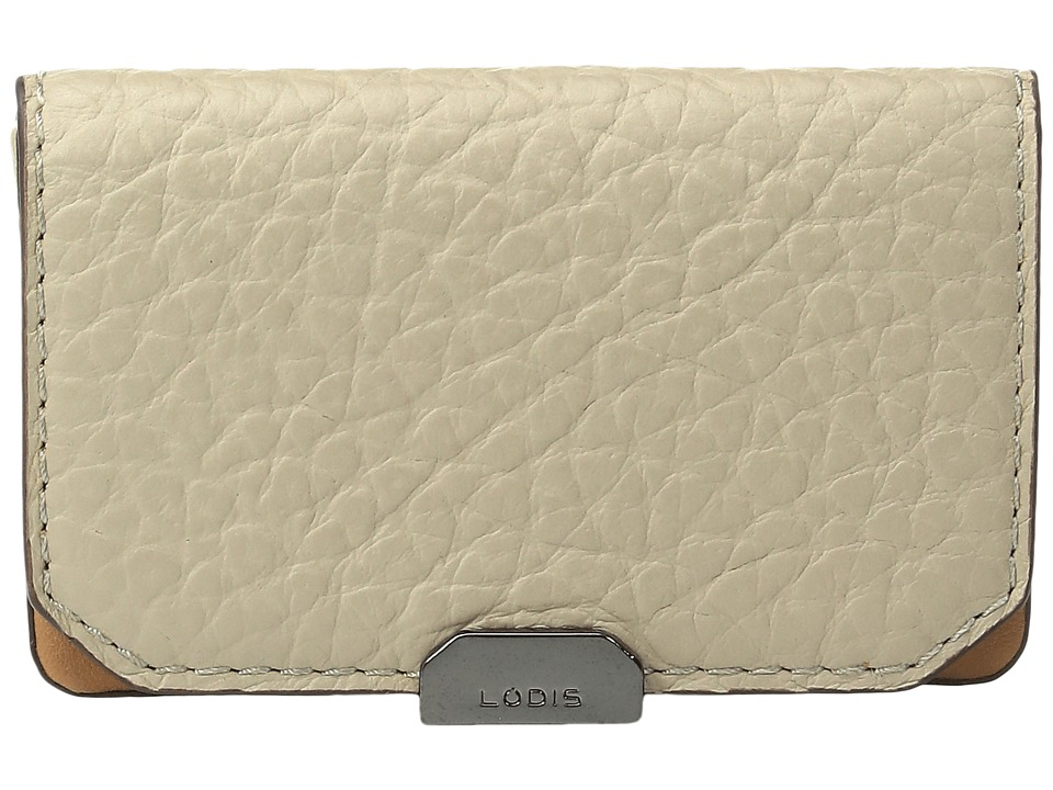 Lodis Accessories - Borrego Mini Card Case (Taupe) Credit card Wallet