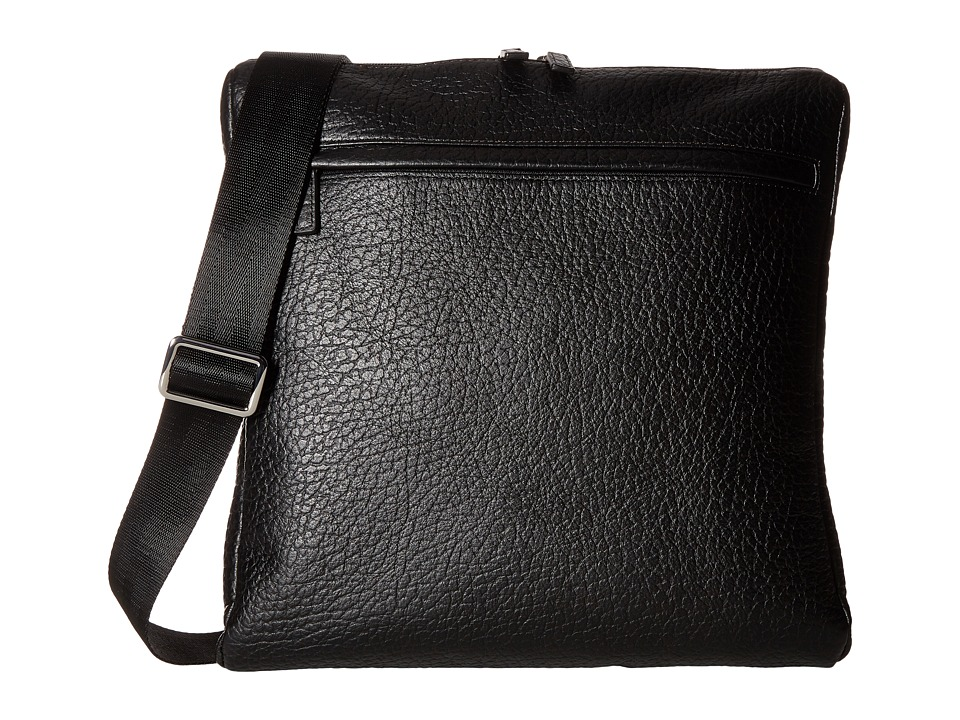 Lodis Accessories - Borrego RFID Jack Large Messenger (Black) Messenger Bags
