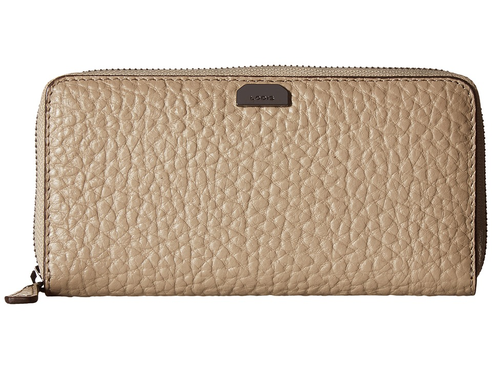 Lodis Accessories - Borrego RFID Under Lock Key Joya Wallet (Taupe) Wallet Handbags
