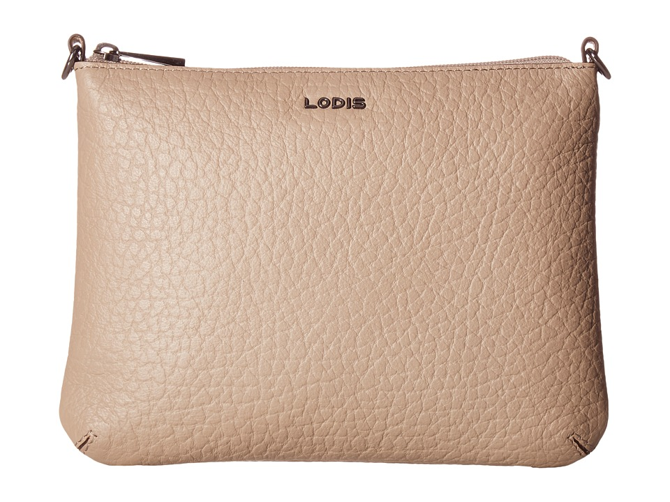 Lodis Accessories - Borrego Emily Clutch Crossbody (Taupe) Cross Body Handbags