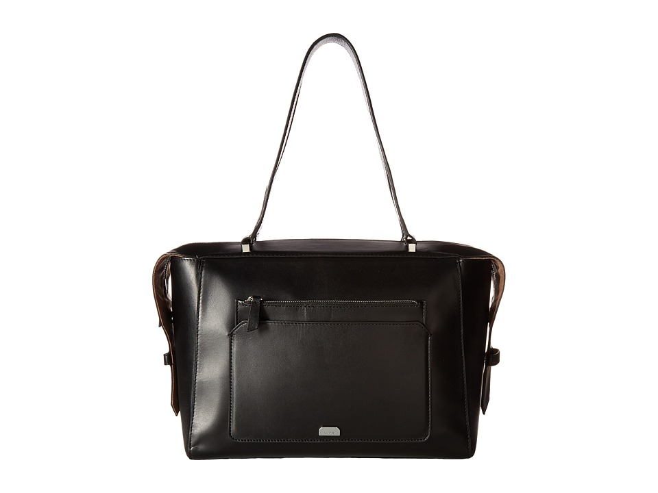 Lodis Accessories - Amy Geelan Satchel (Black) Satchel Handbags