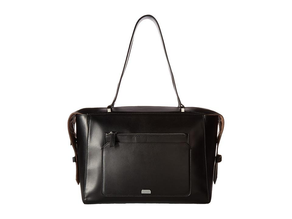 Lodis Accessories - Amy Geelan Satchel (Black) Satchel Handbags