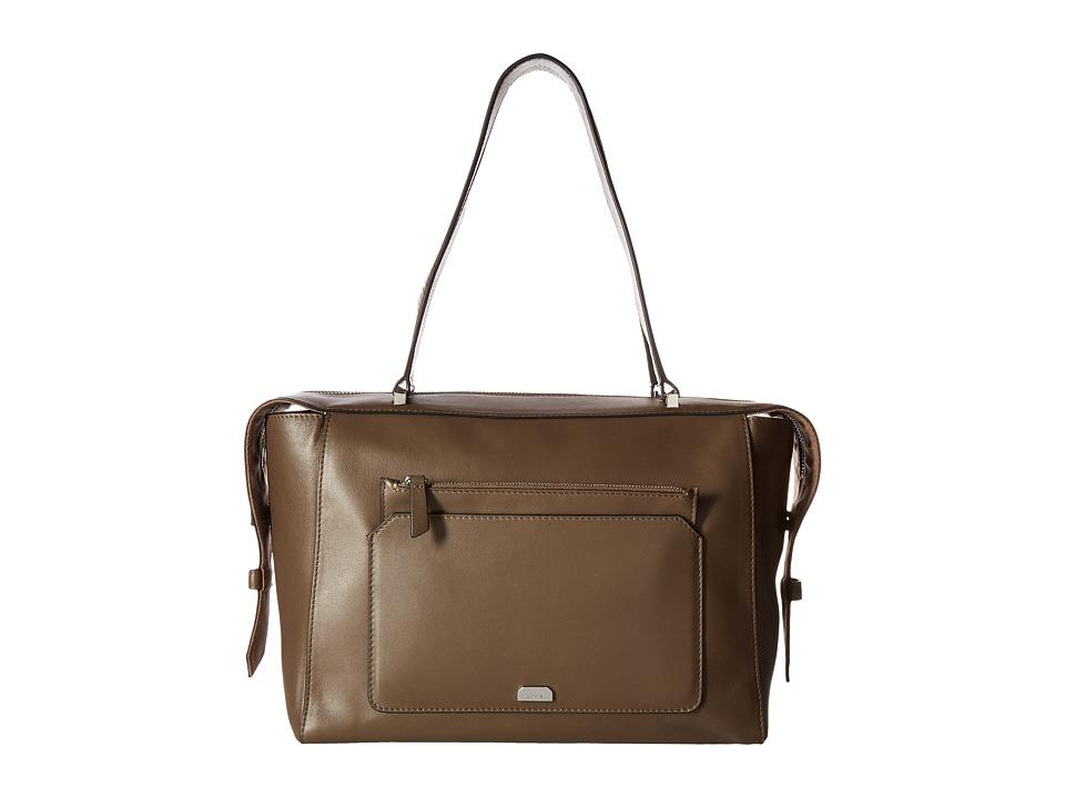Lodis Accessories - Amy Geelan Satchel (Olive) Satchel Handbags