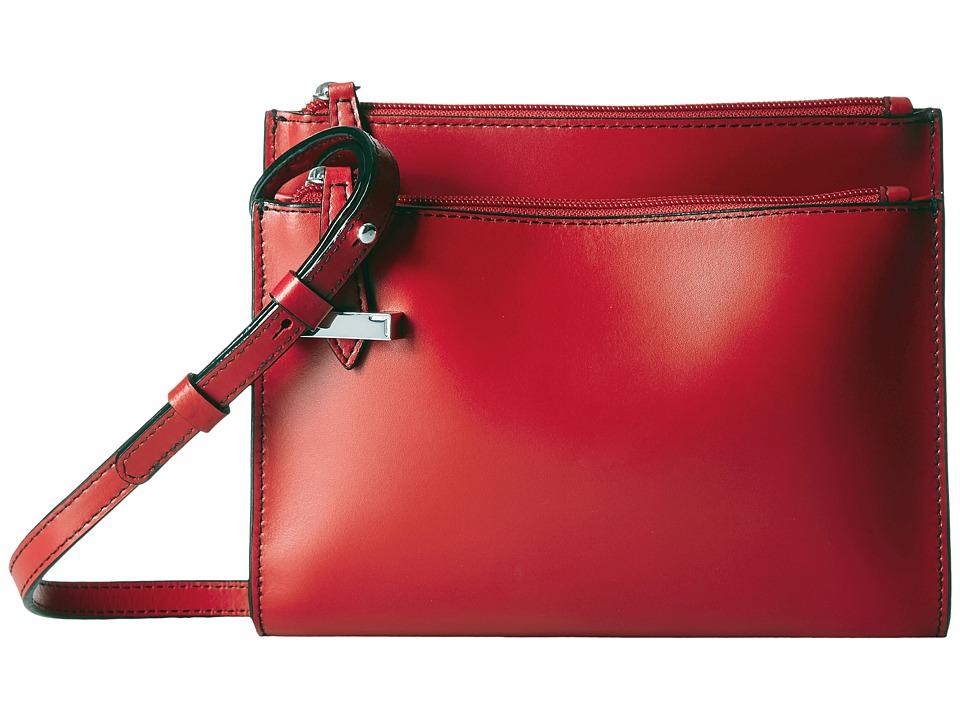 Lodis Accessories - Audrey Trisha Double Zip Wallet On A String (Black) Wallet Handbags