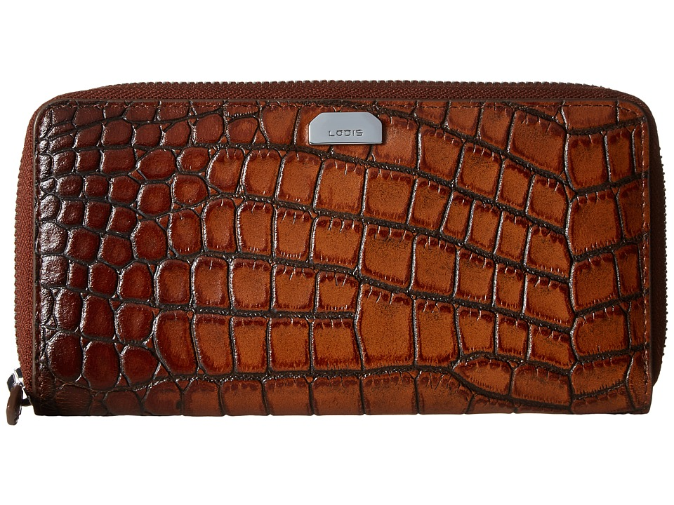 Lodis Accessories - Amy Ada Zip Wallet (Maple) Wallet Handbags
