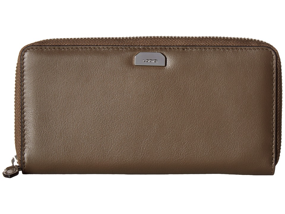 Lodis Accessories - Amy Ada Zip Wallet (Olive) Wallet Handbags