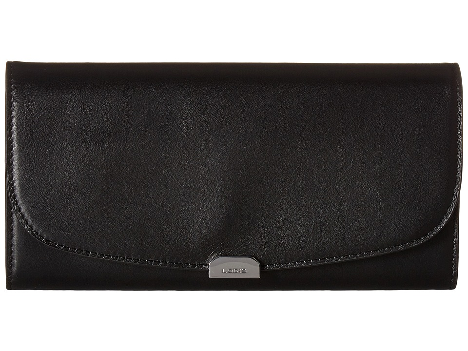 Lodis Accessories - Amy Taya Continental Wallet (Black) Wallet Handbags