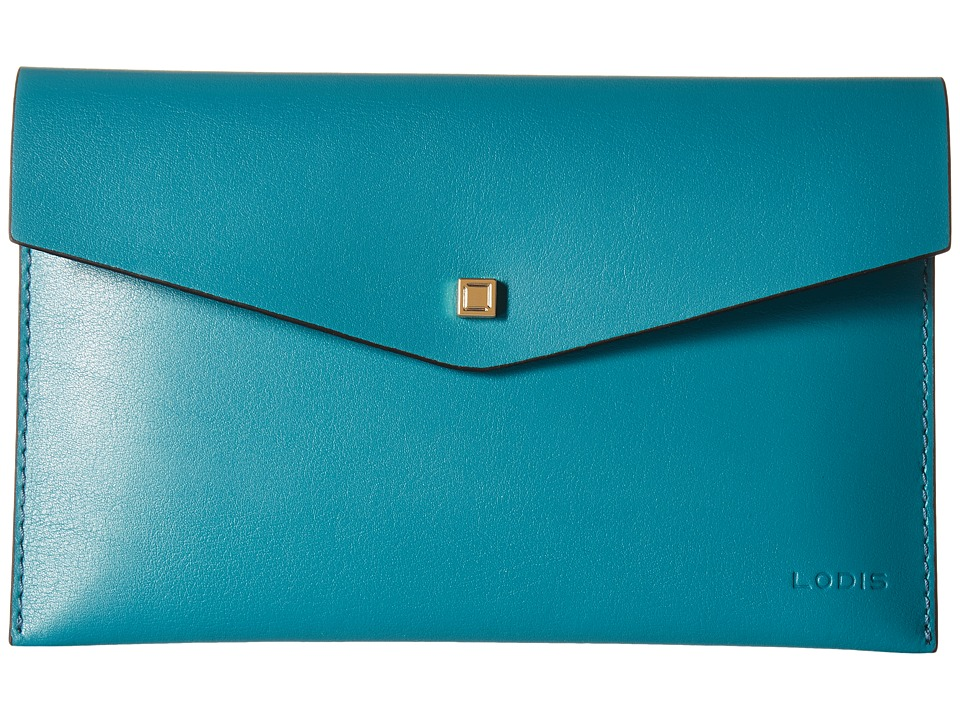 Lodis Accessories - Blair Deena Pouch (Ivy/Taupe) Wallet