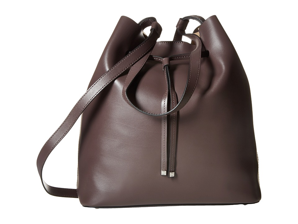 Lodis Accessories - Blair Halina Large Drawstring (Lava/Taupe) Drawstring Handbags