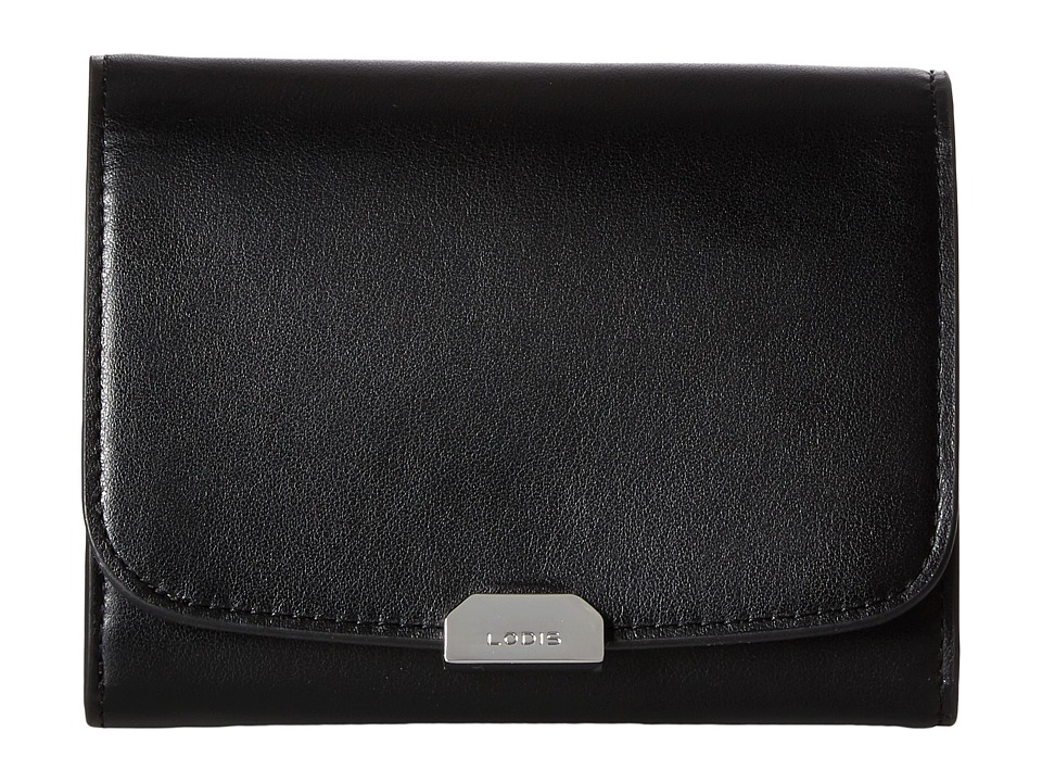 Lodis Accessories - Amy Sasha French Purse (Black) Wallet Handbags