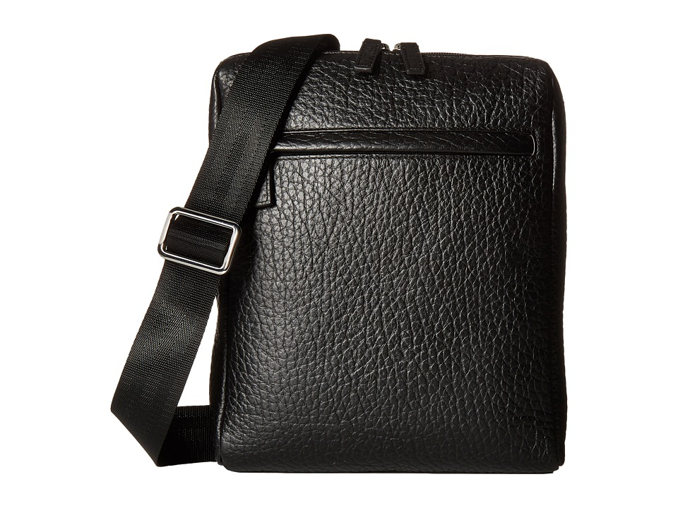 Lodis Accessories Borrego RFID James Small Messenger (Black) Messenger Bags
