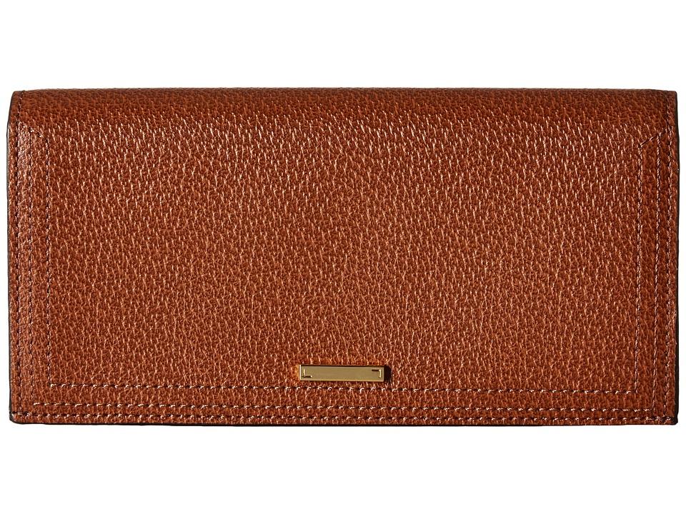 Lodis Accessories - Stephanie RFID Under Lock Key Kia Wallet (Chestnut) Wallet Handbags