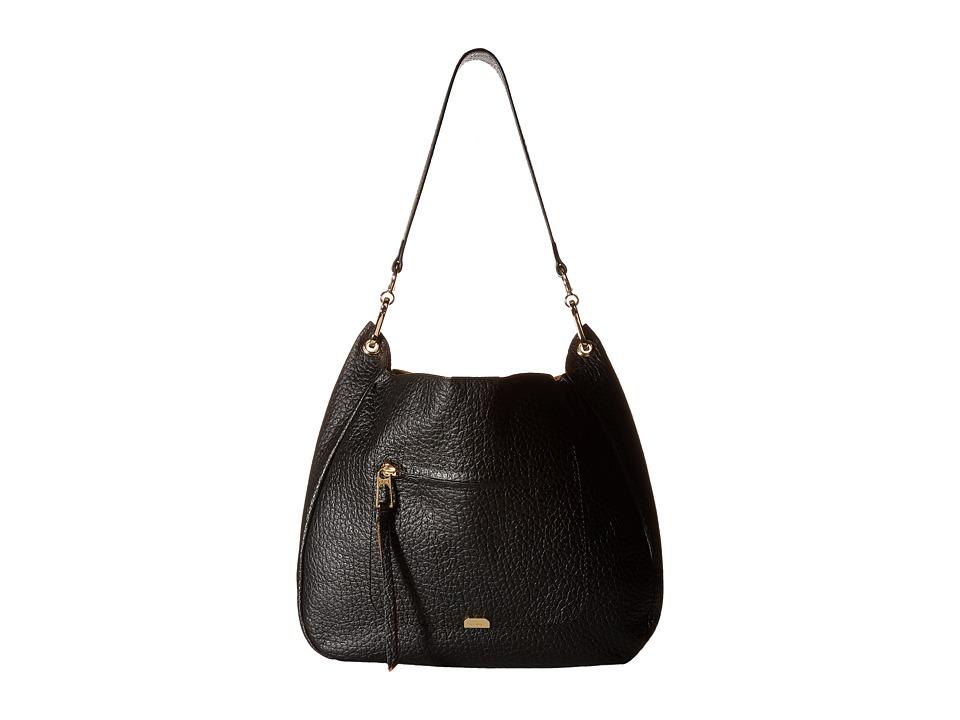 Lodis Accessories - Borrego Nanda Hobo (Black) Hobo Handbags
