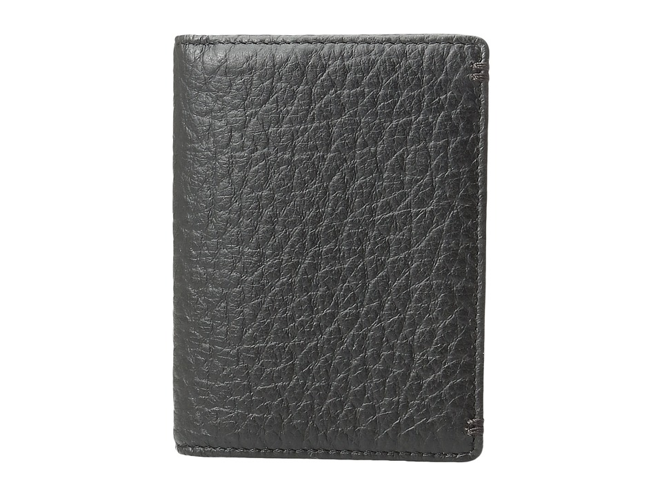 Lodis Accessories - Borrego RFID Harvey Money Clip Bifold (Black) Bi-fold Wallet