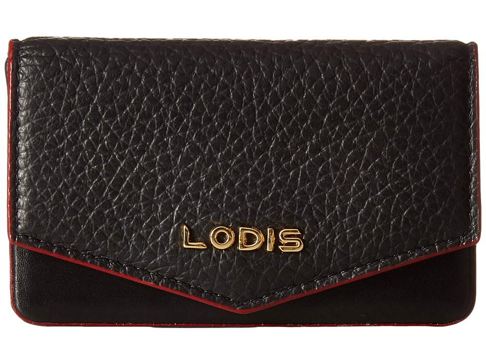 Lodis Accessories - Kate Maya Card Case (Black) Credit card Wallet