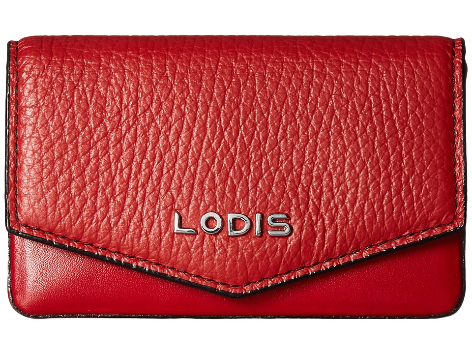 Lodis Accessories - Kate Maya Card Case (Red) Credit card Wallet
