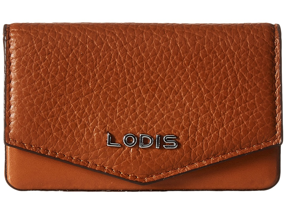Lodis Accessories - Kate Maya Card Case (Toffee) Credit card Wallet