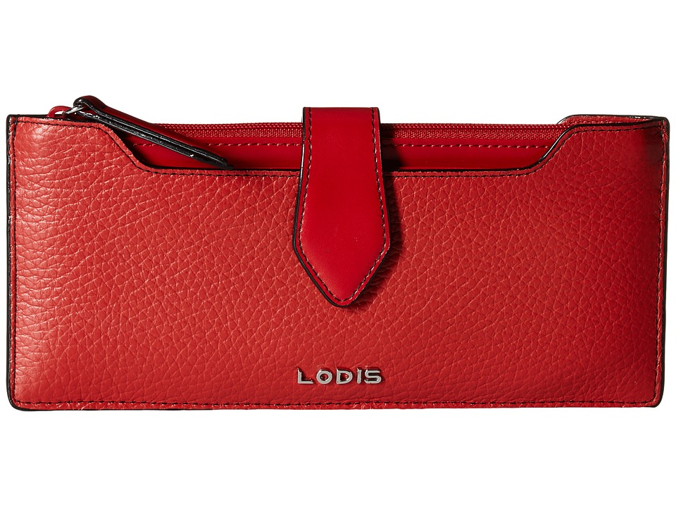 Lodis Accessories - Kate Sandy Multi Pouch Wallet (Red) Wallet Handbags