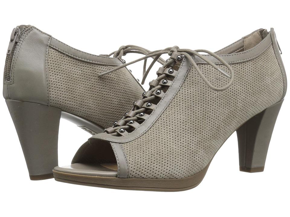 Bella-Vita - Lilo (Stone Kid Suede Leather/Stone) High Heels