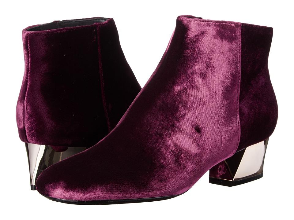 Alice + Olivia - Paxton (Bordeaux Velvet) Women's Shoes