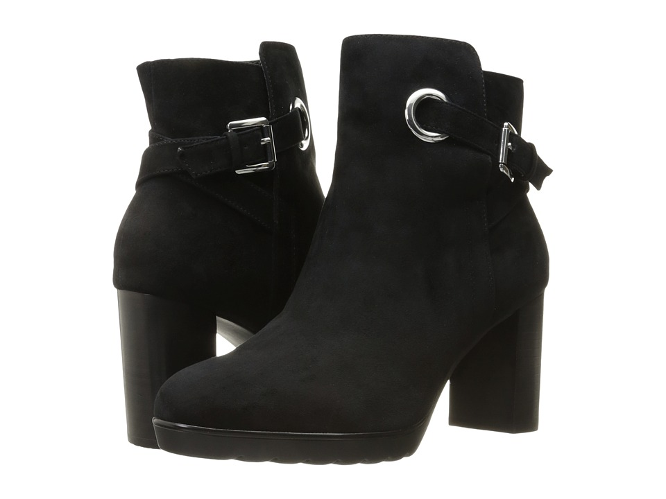 Bella-Vita - Zelda (Black Kid Suede Leather) High Heels