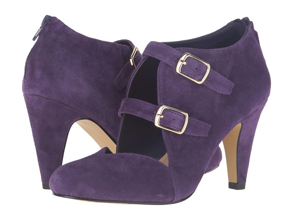 Bella-Vita - Niko (Eggplant Kid Suede Leather) High Heels