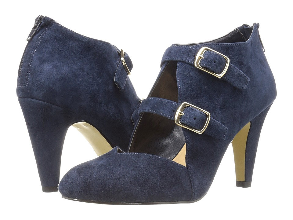 Bella-Vita - Niko (Navy Kid Suede Leather) High Heels