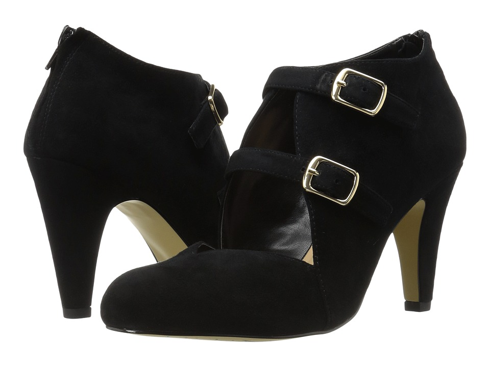 Bella-Vita - Niko (Black Kid Suede Leather) High Heels
