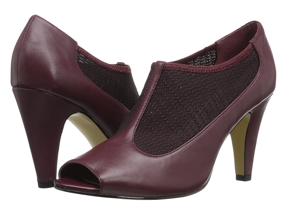 Bella-Vita Ninette (Burgundy/Stretch) High Heels