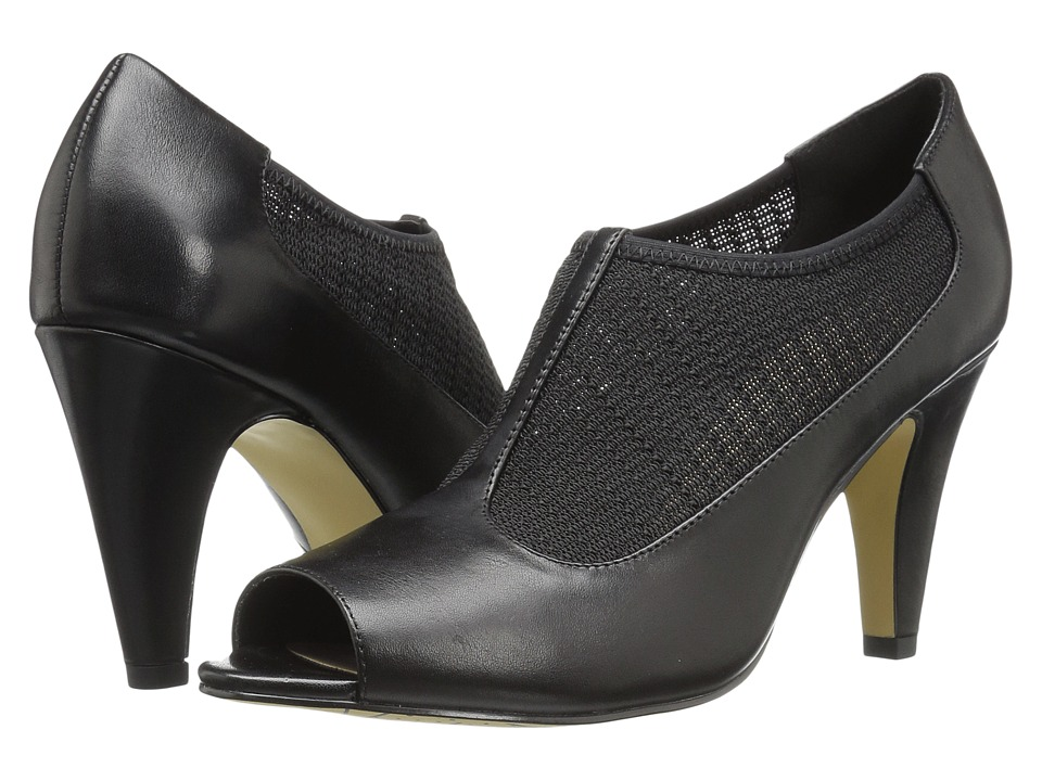 Bella-Vita Ninette (Black/Stretch) High Heels