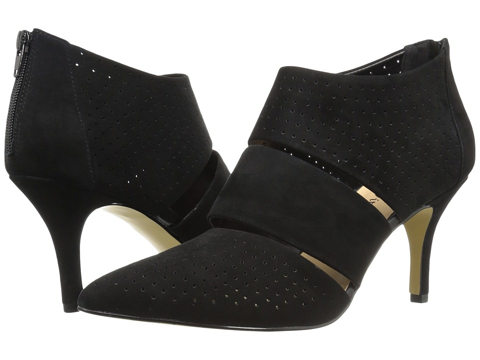 Bella-Vita - Danica (Black Kid Suede Leather) High Heels