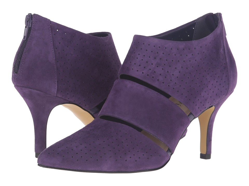 Bella-Vita - Danica (Eggplant Kid Suede Leather) High Heels