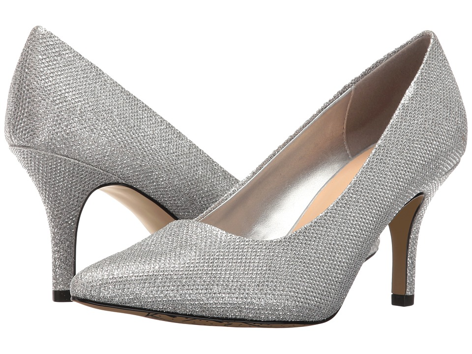 Bella-Vita Define (Silver Glitter) High Heels