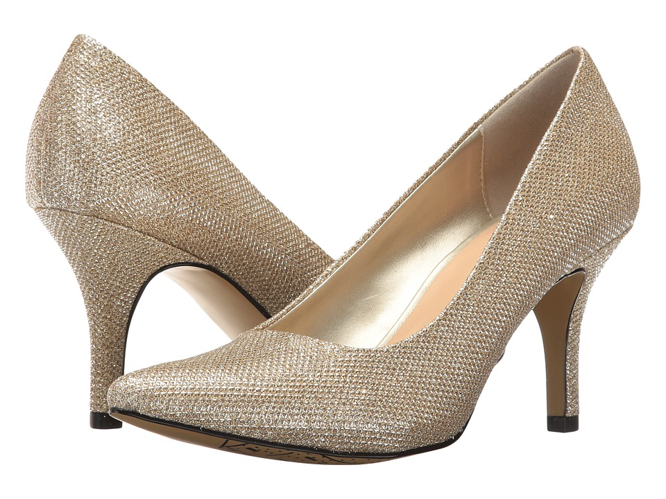 Bella-Vita Define (Gold Glitter) High Heels