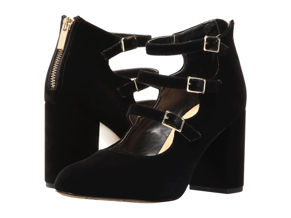 Bella-Vita Nettie (Black Velvet) High Heels