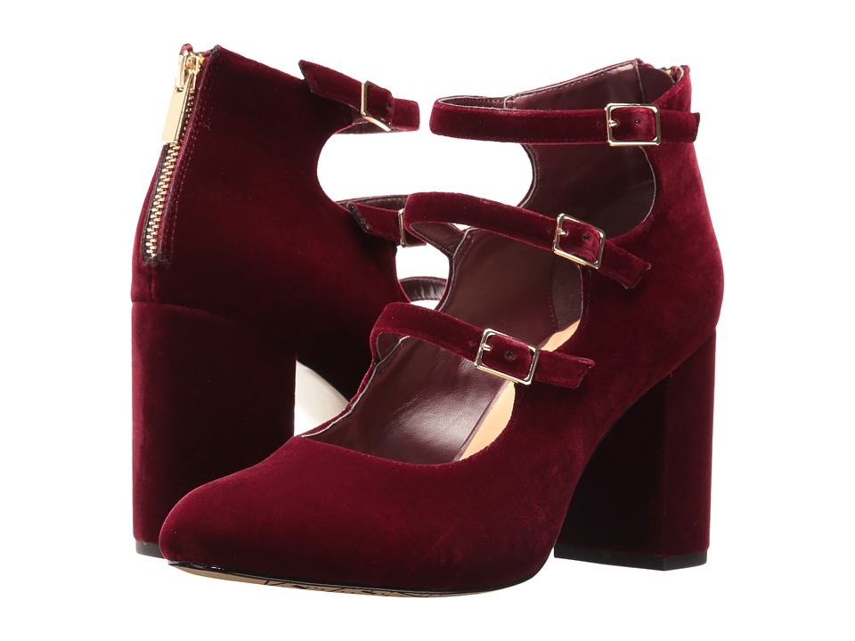 Bella-Vita Nettie (Burgundy Velvet) High Heels