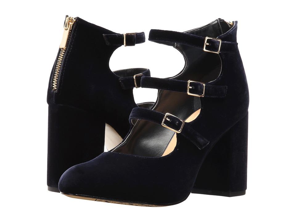 Bella-Vita Nettie (Navy Velvet) High Heels