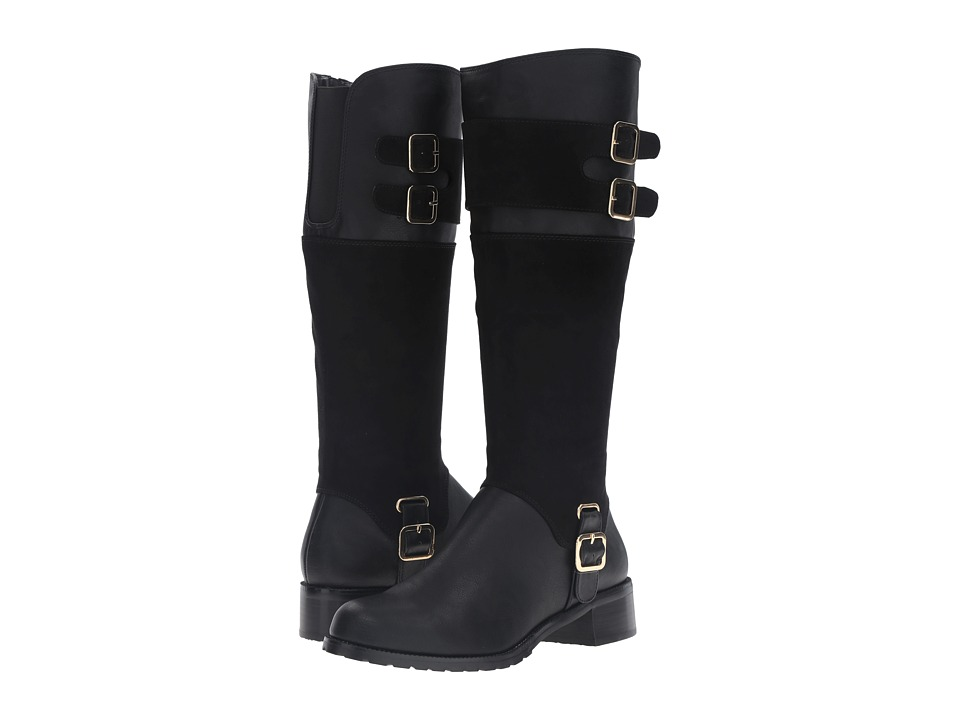 Bella-Vita Adriann II (Black/Super Suede) Women