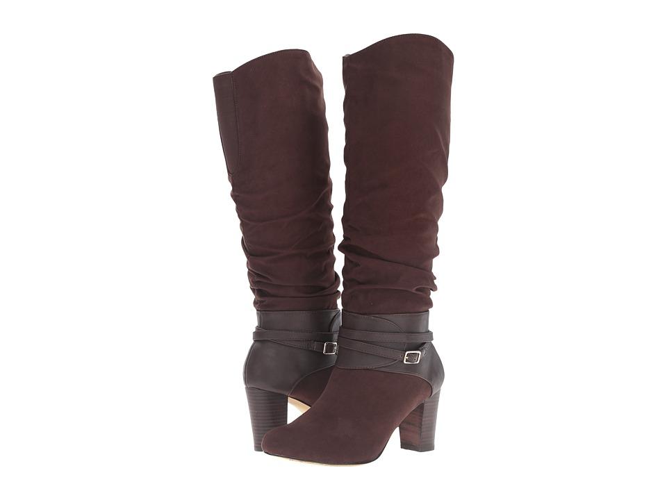 Bella-Vita - Tabitha II (Brown Super Suede/Brown) Women's Pull-on Boots