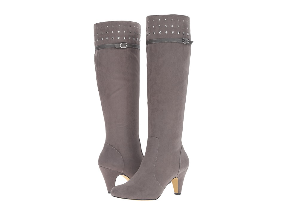 Bella-Vita Taryn II (Grey Super Suede) Women