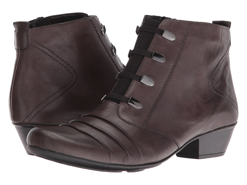 Rieker - D7381 (Graphit/Graphit) Women's Dress Boots