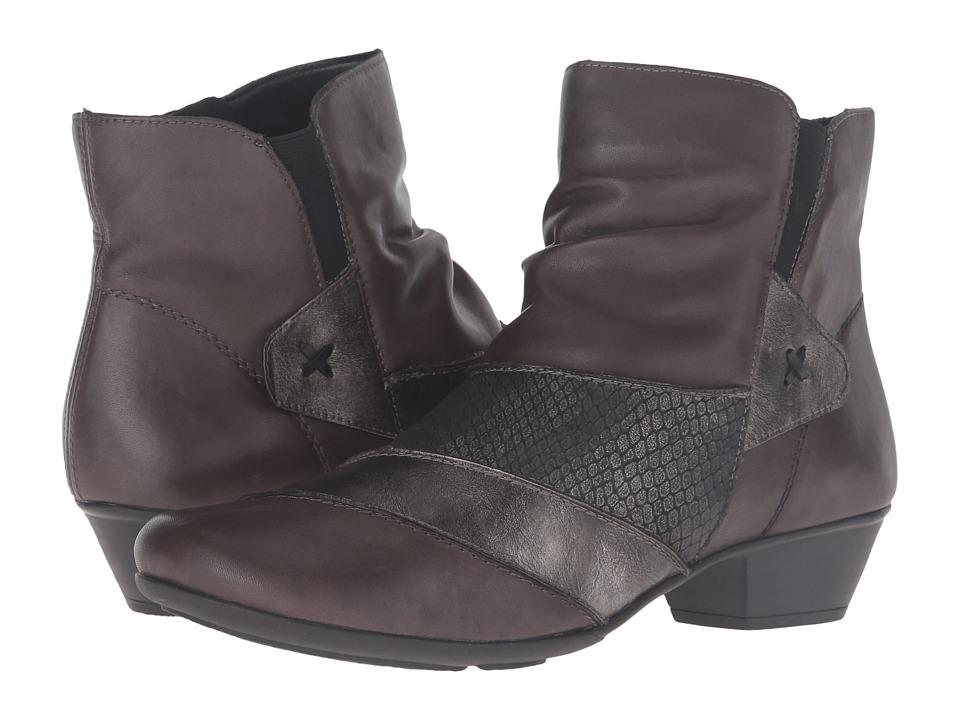 Rieker - D7393 (Graphit/Altsilber/Granit/Schwarz) Women's Dress Boots
