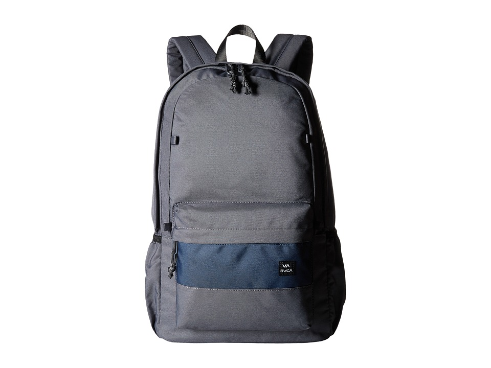 RVCA - Frontside Backpack (Dark Grey) Backpack Bags